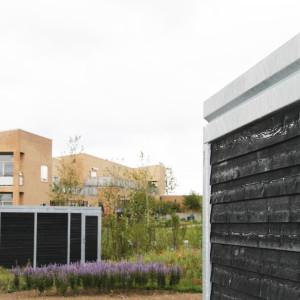 Cykelskure og opbevaring, Børnehaven Bernts Have, Holbæk