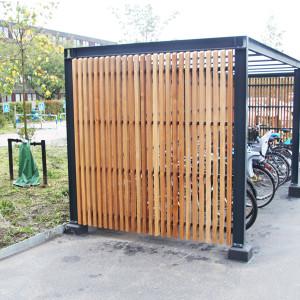 Gadevang, Taastrup, cykeloverdækning