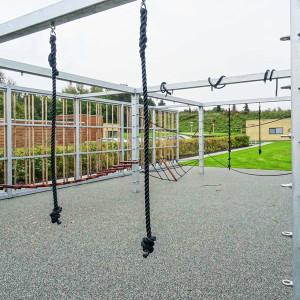 Sensing overdækning og huse, legeredskaber, Langagerskolen, Aarhus