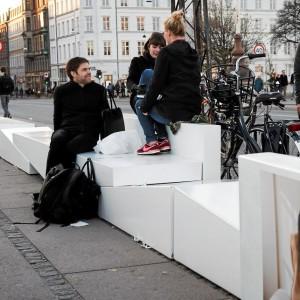 Piece bænke, The Sofa Experience, Aarhus