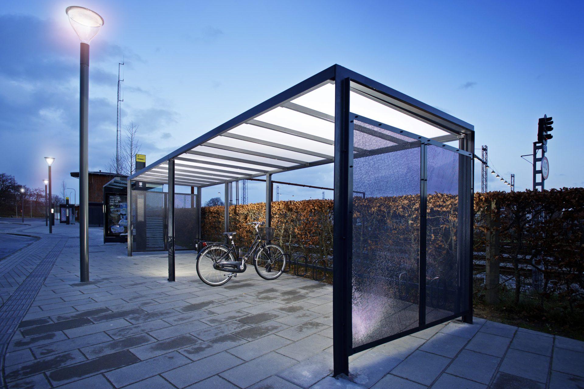 Frame Cykeloverdækninger, Esbjerg Banegård