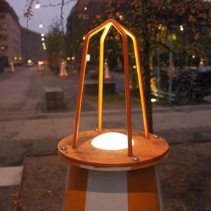 Object Pullert, Detalje med lys
