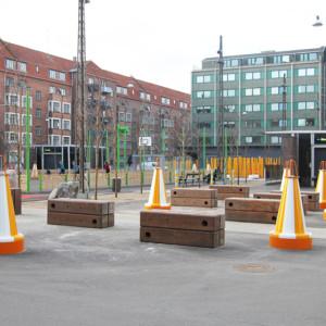 Object Pullerter, Islands Brygge, København