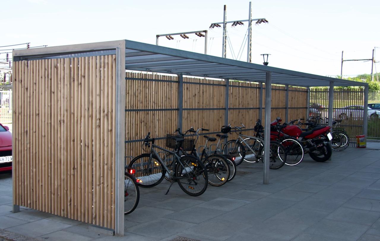 Frame cykeloverdækning, Fynsværket i Odense.