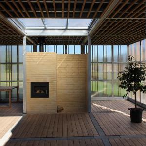 Sensing overdækning og huse, Langagerskolen Aarhus, Interiør