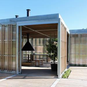 Sensing overdækning og huse, Langagerskolen Aarhus