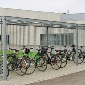 Keep cykeloverdækning ved Topsil.