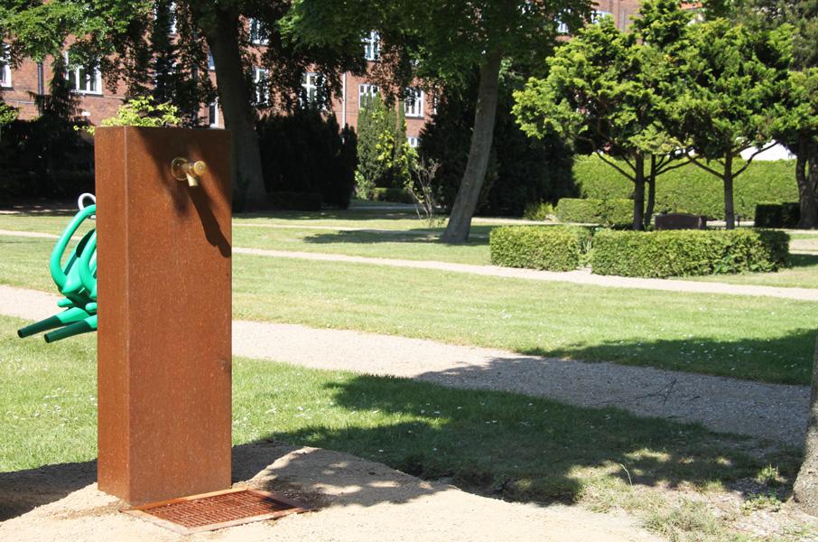 Quijote Vandstander, Vor Frelser Kirkegård