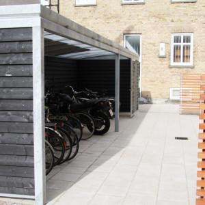 Square cykeloverdækning Aalborg Kommune.