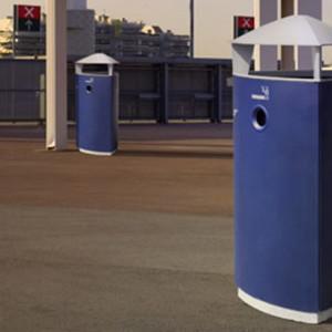 Tria Affaldsspande i blå