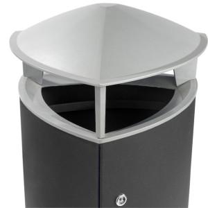 Tria affaldskurv, låg
