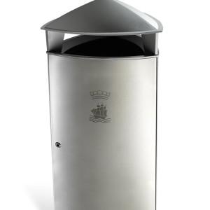 Tria Affaldsspand med branding