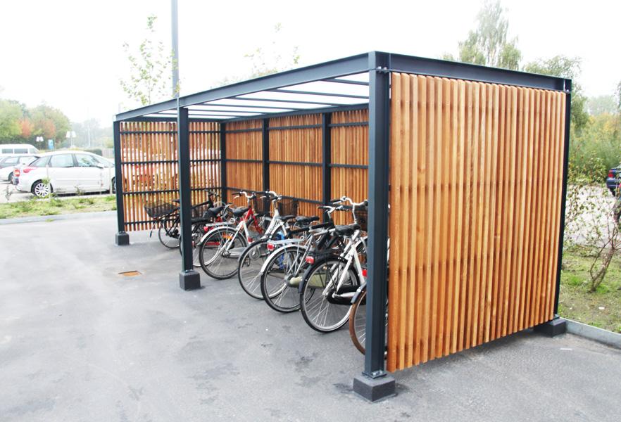 Gadevang, Taastrup. cykeloverdækning