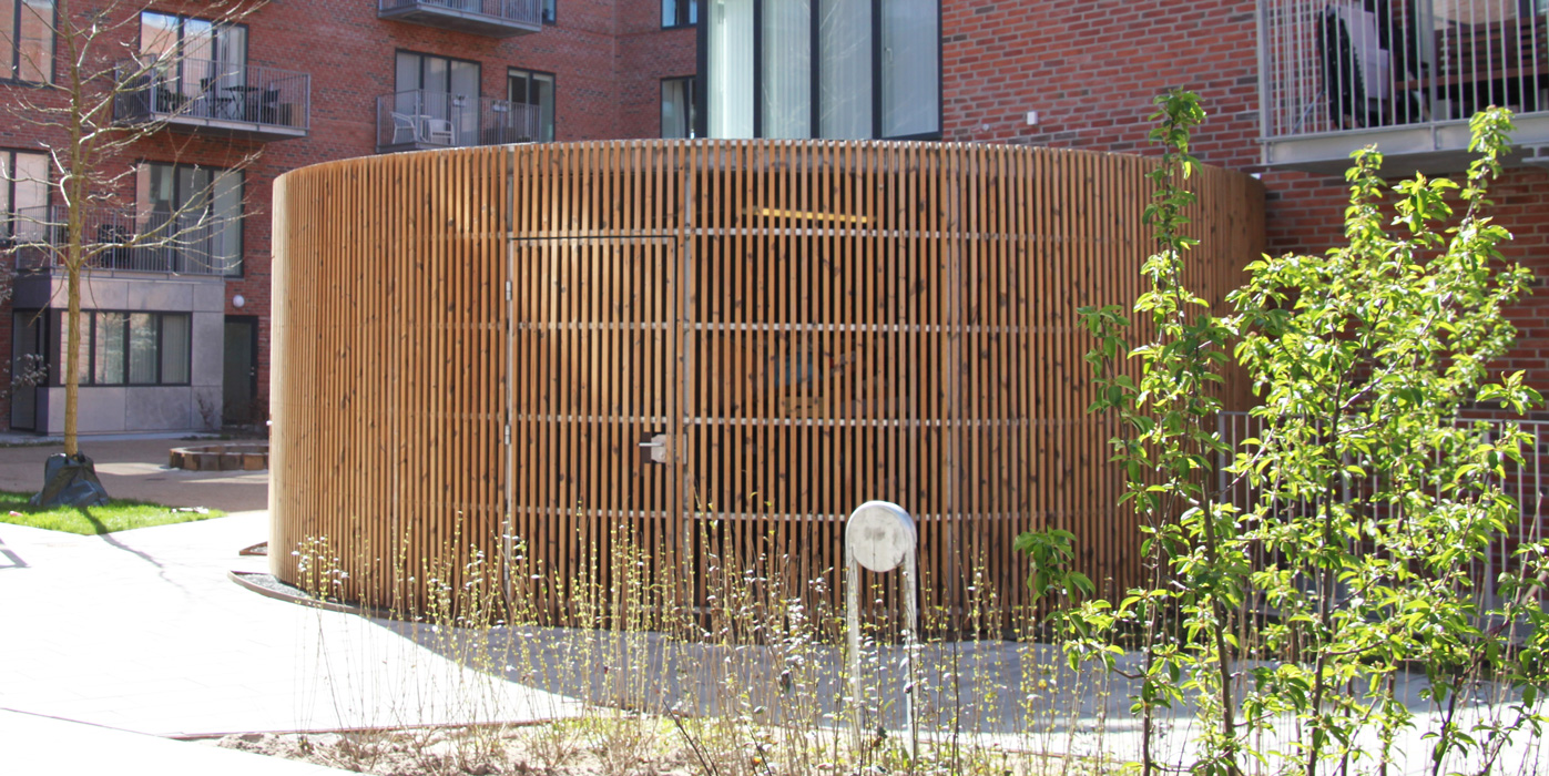 Cirkulær miljøstation, Valby Maskinfabrik