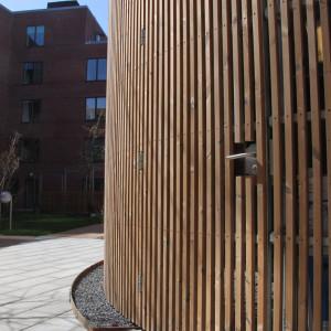 Cirkulær miljøstation, Valby Maskinfabrik, dør