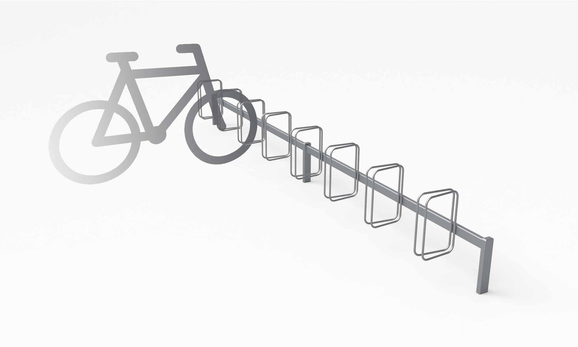 Frame Cykelstativ, tegning