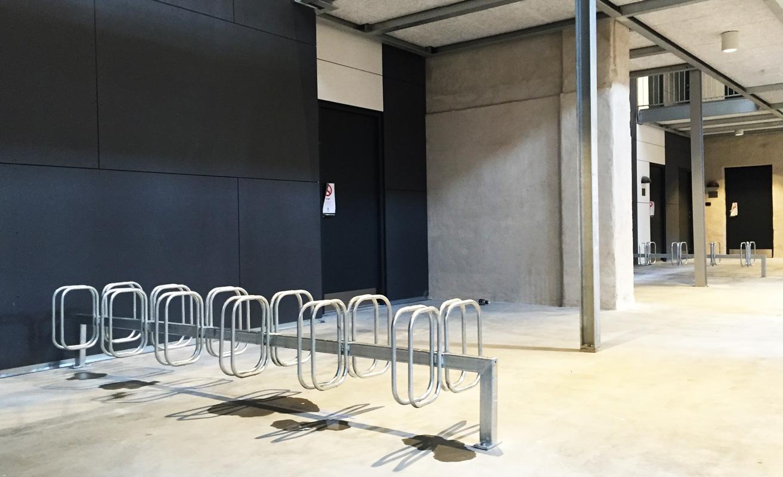 Frame Cykelstativer ved Odense Slagterier