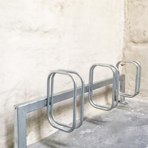 Frame cykelstativ fra Flexys ved Odense Slagterier