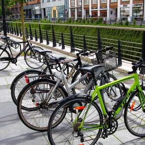 Keep Cykelstativer i bymiljø