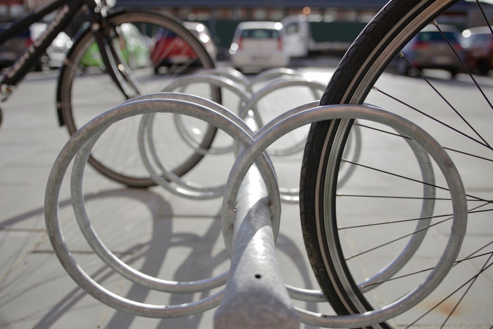 Y dobbelt cykelstativ fra Flexys