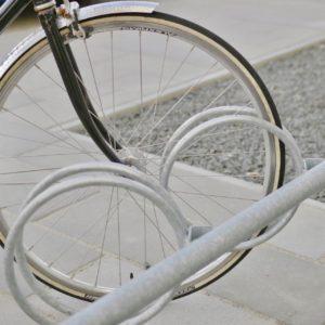 Y skrå cykelstativ fra Flexys